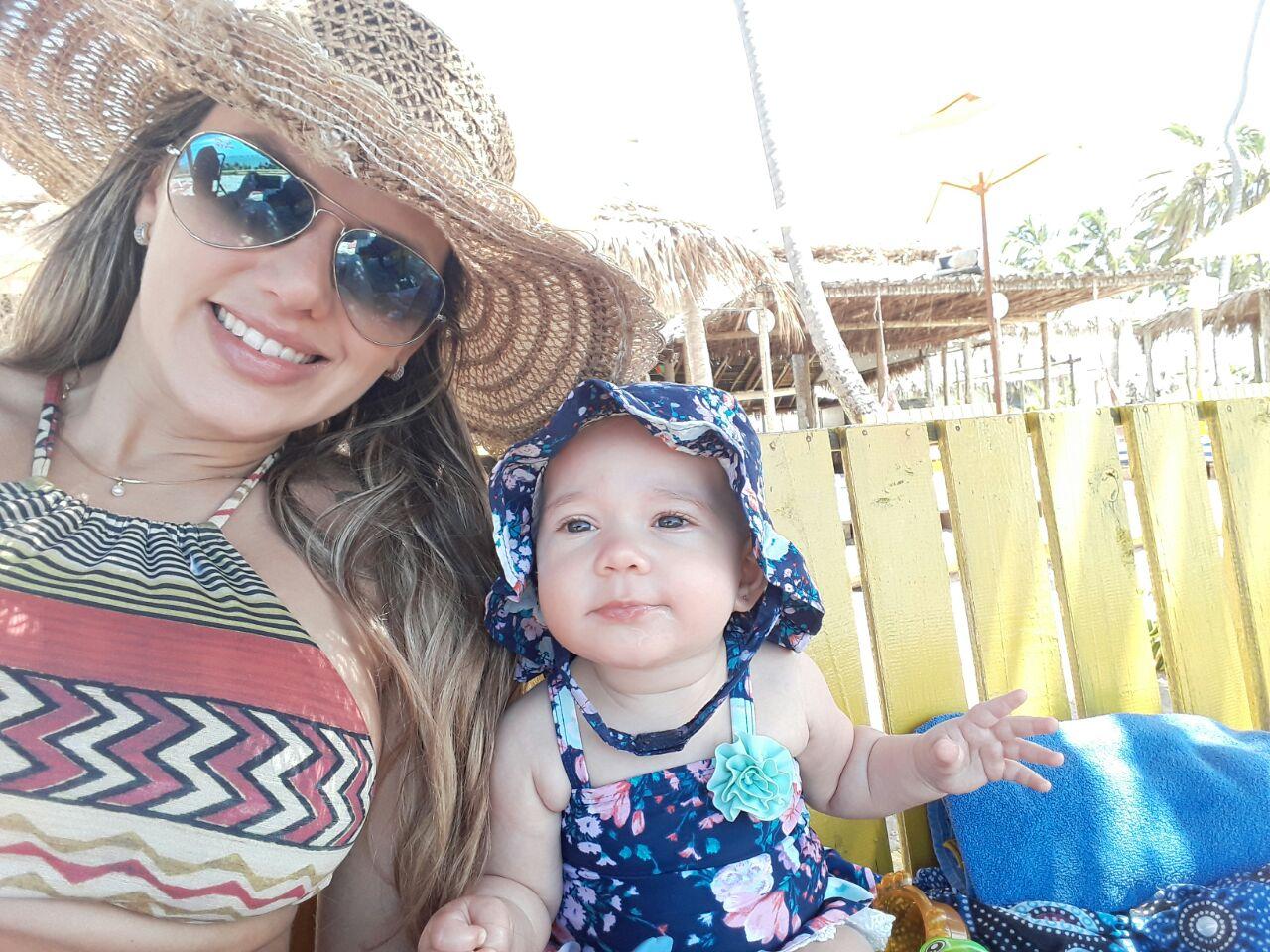 Ana Paula Araújo, mamá de Alice de 6 meses