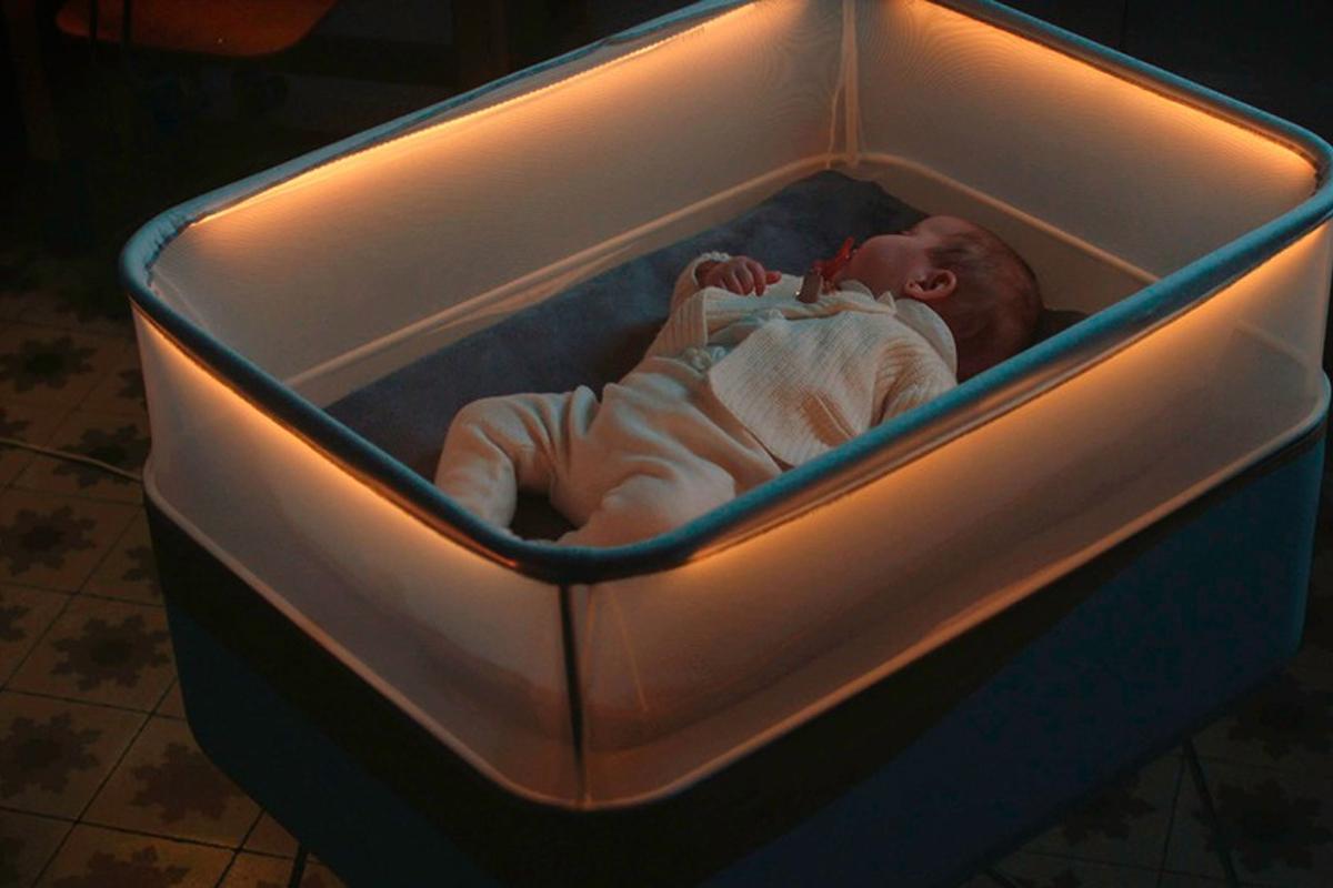 Ford lanza una cuna para hacer dormir al bebé