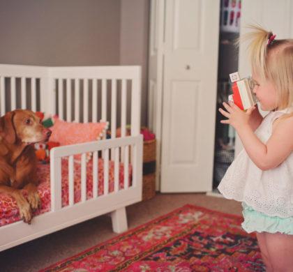 El niño de 2 años y 10 meses